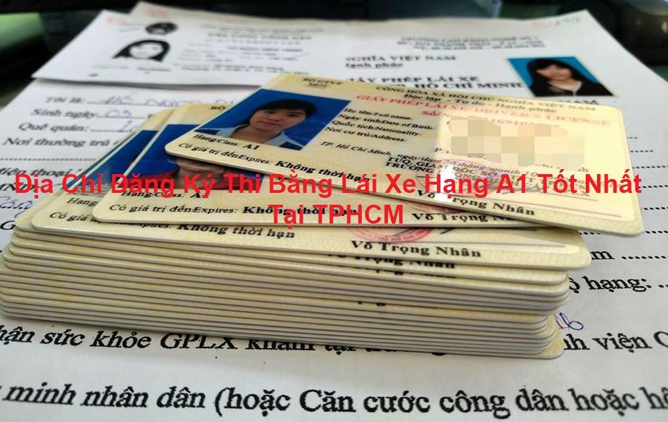 Nơi đăng ký thi bằng lái xe máy tại TPHCM