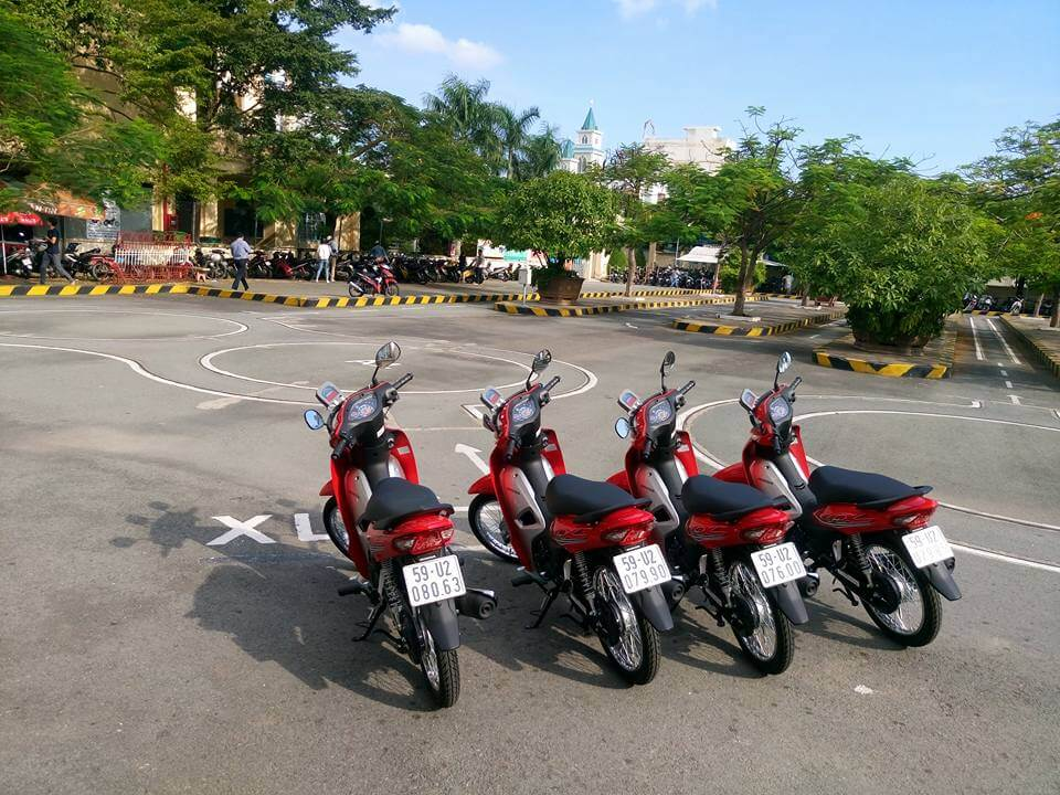 Địa điểm thi bằng lái xe 2 bánh cho người nước ngoài ở TPHCM