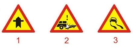 Biển nào báo hiệu đoạn đường hay xảy ra tai nạn?