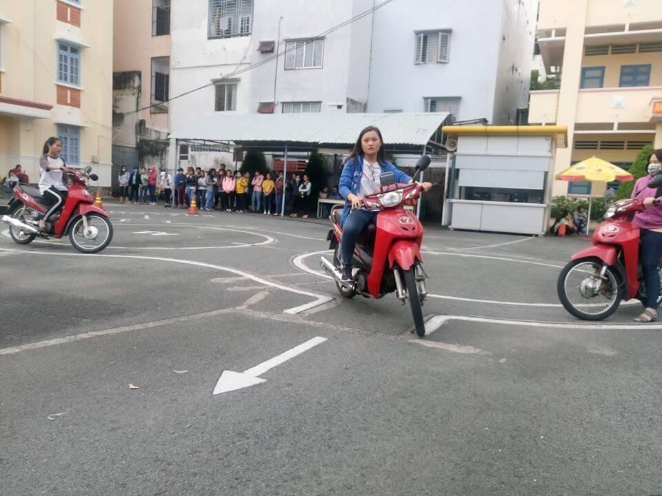 thi bằng lái xe máy quận 3 tphcm bao rẻ