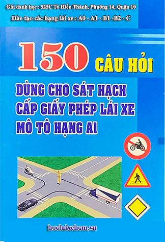 80 câu phần luật bộ 150 câu thi lý thuyết A1 2020