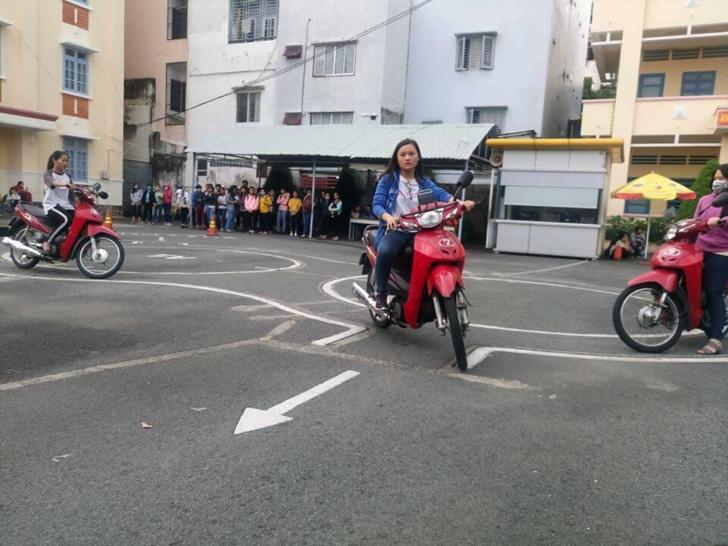 thi bằng lái xe máy ở quận Bình Thạnh