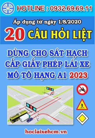 20 Câu Hỏi Điểm Liệt Thi Bằng Lái Xe Máy Hạng A1 2